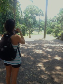 Caught on camera at Botanical Gardens