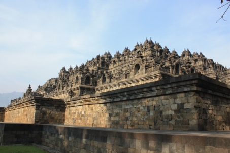 Borobodur: View from below